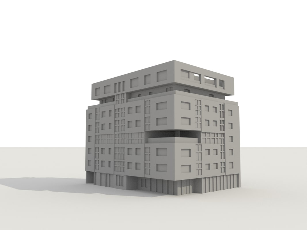 apartment ready 3D model