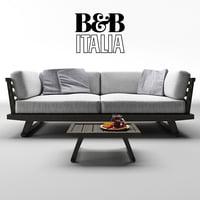 B&B Gio Sofa & Table