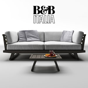 b gio sofa table model