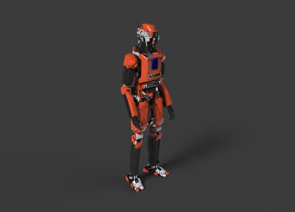 robot human model