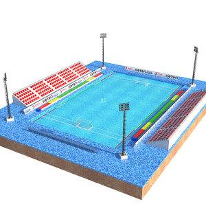 3D swimming pool olympics