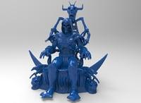 skeletor statu 3D model