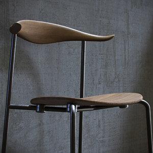 3D carl hansen ch88 chair