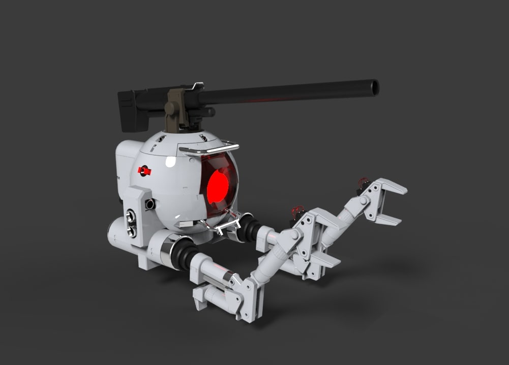 drone robot 3D