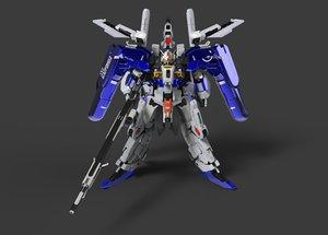 gundam armor model