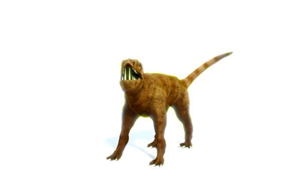 3D mythical beast