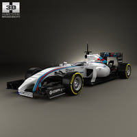 williams fw36 fw 3D model
