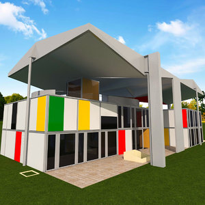 heidi weber museum 3D model