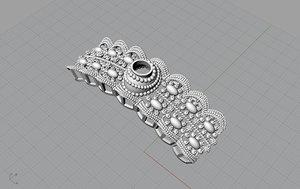 3D indian bangle