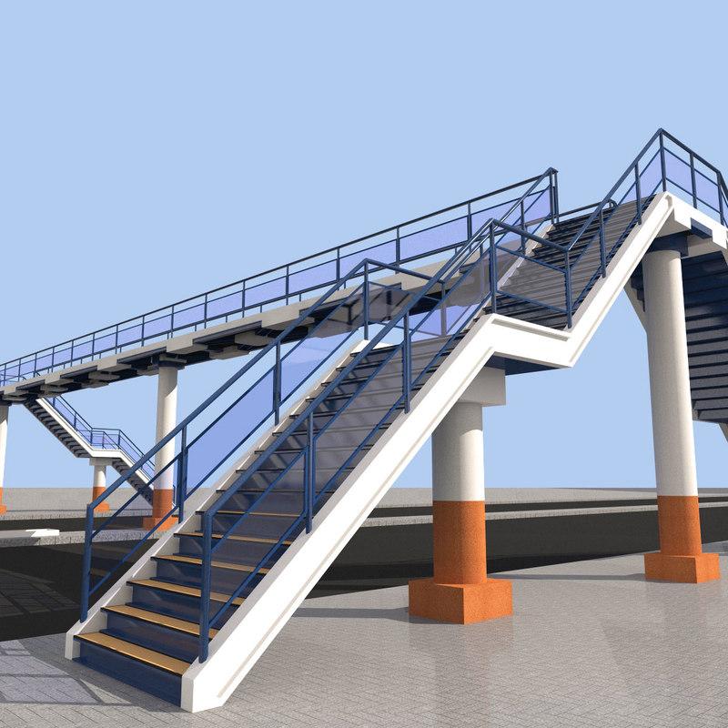 overpass 3D model