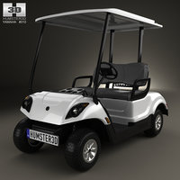 yamaha golf car 3D model