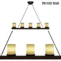 3D pottery barn veranda linear