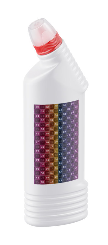 3D cleaning bottle