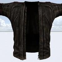 leather jacket 3D model