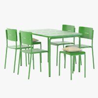 Ikea Photorealistic Vaddo Outdoor Chair Stool Table