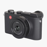 3D photoreal mirrorless camera leica