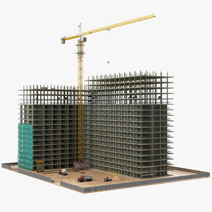 3D building construction equipment