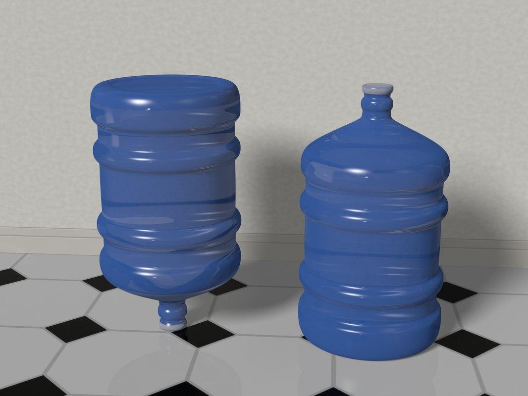 water bottle 5 gallons model