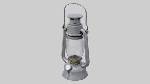 3D oil lamp 1b