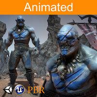 character orc dardan 3D model