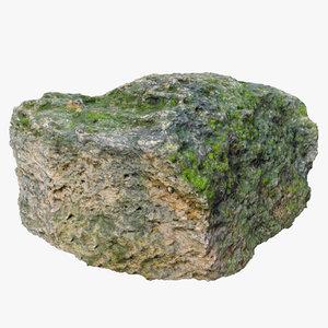 old limestone moss model