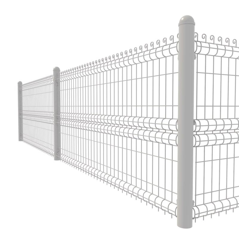 3D custom fence metal