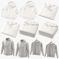 3D male hoodies