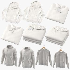3D male hoodies