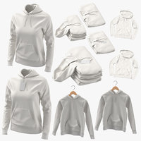 3D standard hoodies female