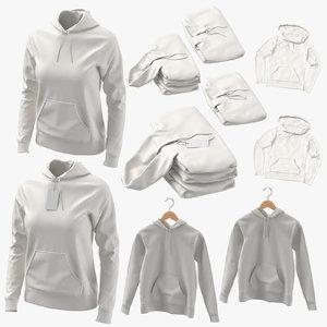 3D standard hoodies female