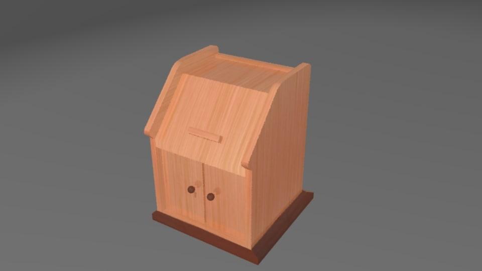 3D pulpit wooden