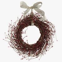 3D christmas wreath 03