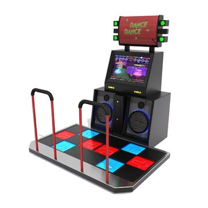 3D model dancing machine