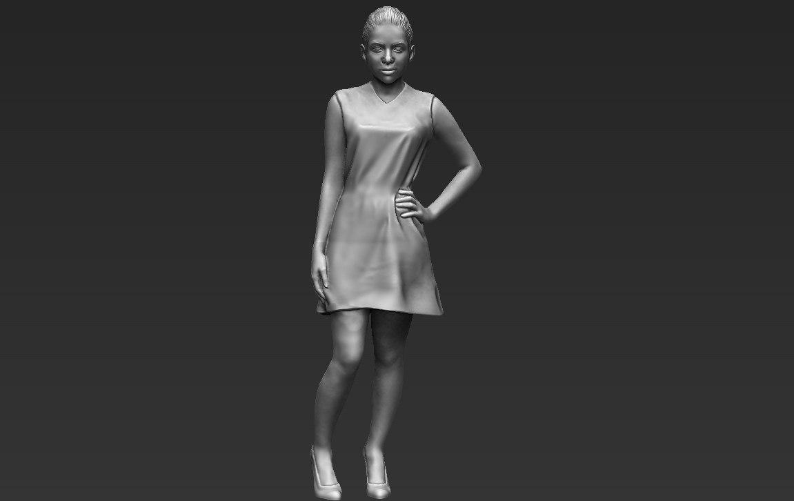 3D shakira ready printing stl model