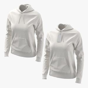 female hoodies worn model