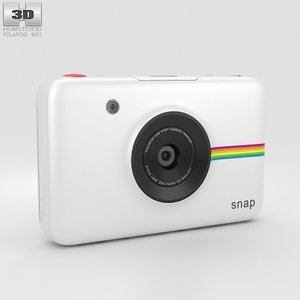 3D polaroid snap instant