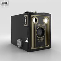 3D kodak brownie target