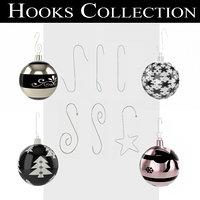 ornament hooks 3D