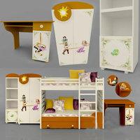childern room 3D model
