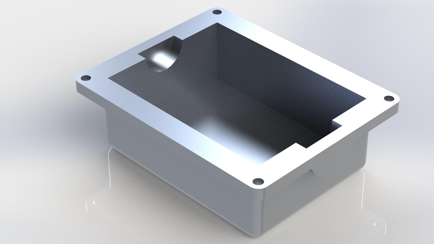 3D sump single cylinder engine model