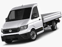 VW Crafter 2017 single cab pickup