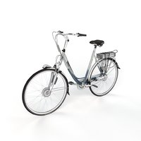 3D dutch bicycle gazelle model