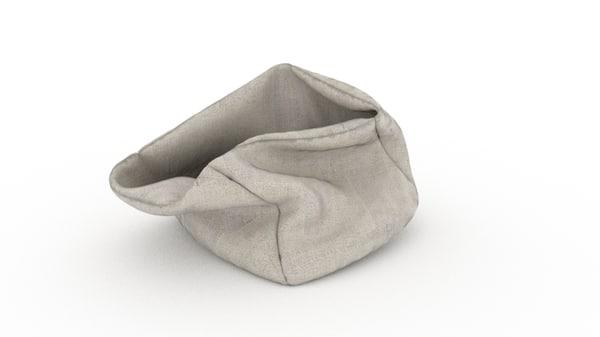 bag sack 3D model