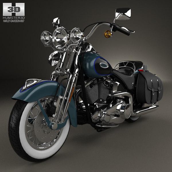 Turbo Your Harley: 3D Harley Davidson Harley-davidson Model