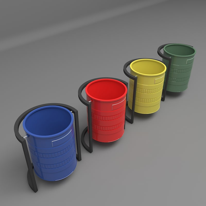 container garbage model