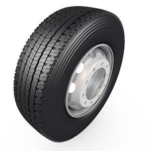 tyre truck 3D model