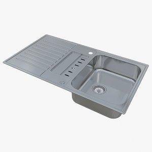 3D sink blanco classic pro