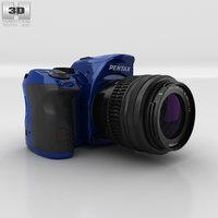 pentax k-30 k 3D model