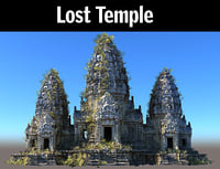 3D lost temple hd