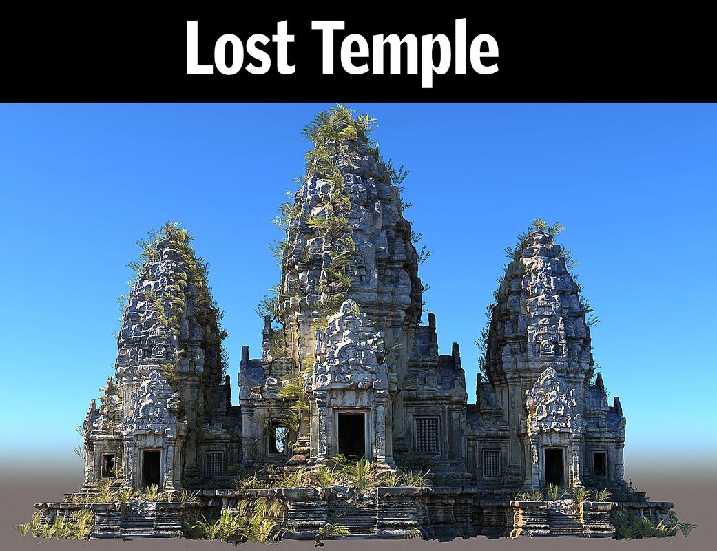 3D lost temple hd